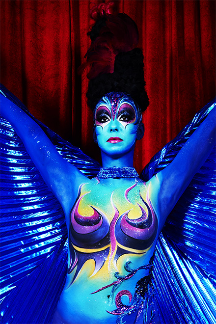 Body painting cirque